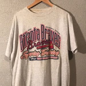 Vintage Atlanta Braves Disney shirt
